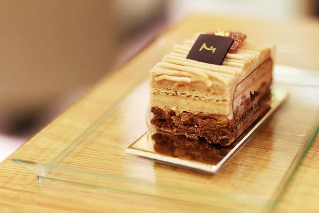 Cakes from La Maison du Chocolat