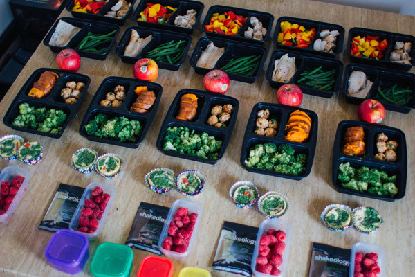 Meal Plan Monday Week 5 21 Day Fix Extreme Meals Containers