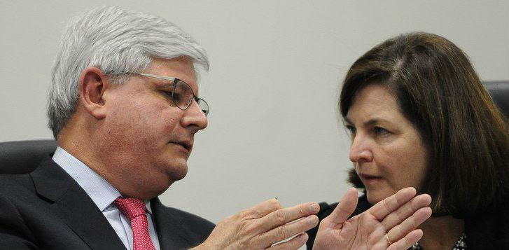 Rodrigo Janot e Raquel Dodge. Foto: Reprodução de Internet