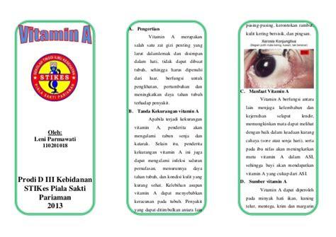 leaflet vitamin  parma