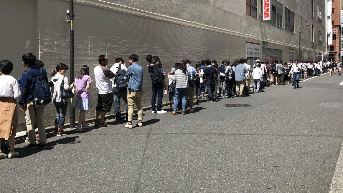 People are still lining up for the Switch in Japan screenshot