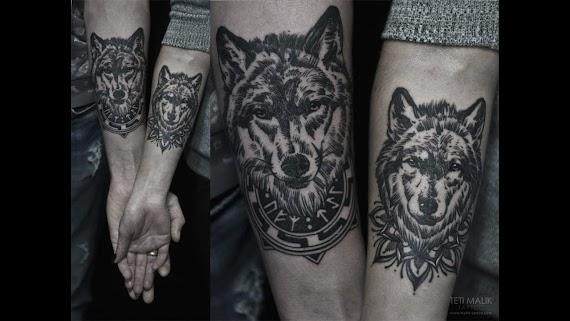 Significado De Lobo Tatuaje