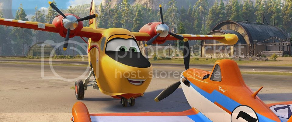 Planes Fire and Rescue Dusty
