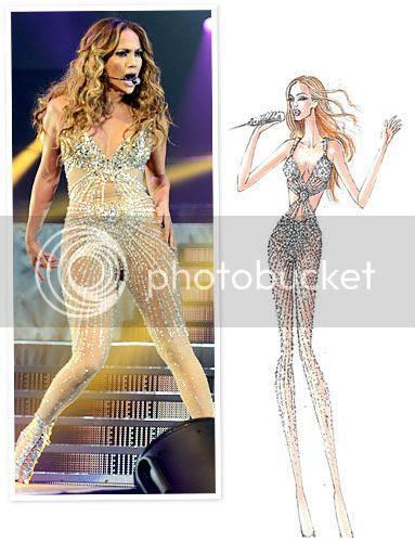 Jennifer Lopez Concert Tour Costumes: First Look