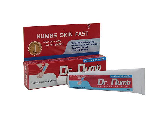 External Use Harmless Maximum Strength Dr Numb Tattoo Cream For Mind