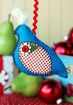 Retro Mama | Partridge Ornament Tutorial