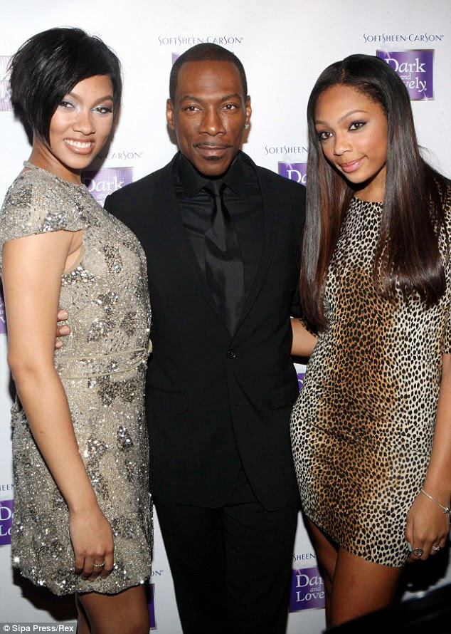 Daddy's girls: Back in 2011, Bria was named brand ambassador at Juliet Supperclub and her father and younger sister were there to support her