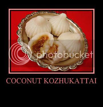 Coconut Kozhukattai