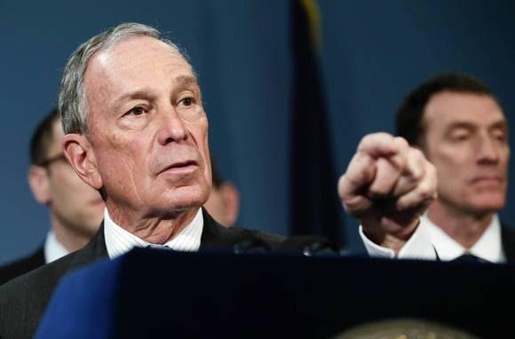 New York Mayor Michael R. Bloomberg