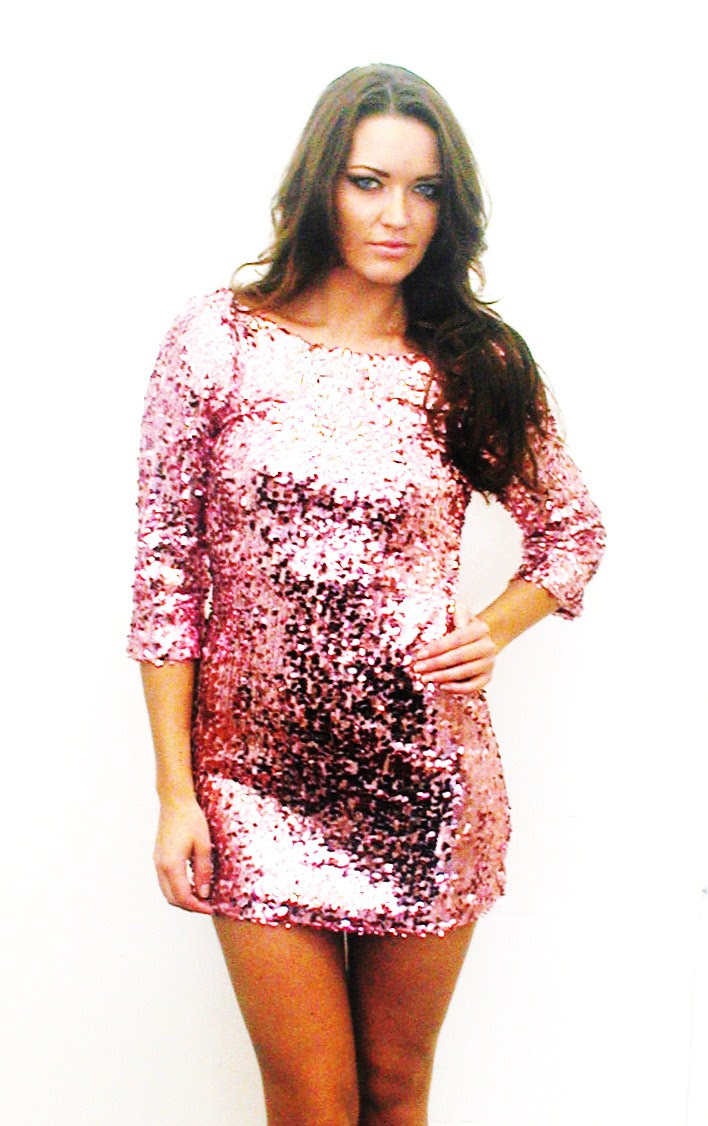 wpid Plus Size Sequin Dress With Sleeves 2014 2015 6
