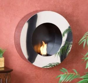 Fireplace Lowdown Modern Wall Mounted Gel Fuel Fireplace Makes Fun