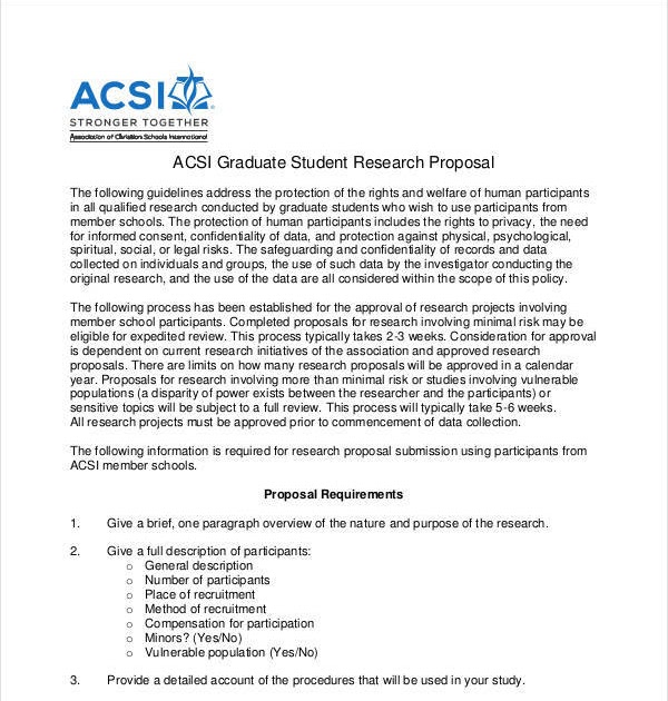 Phd research proposal rationale