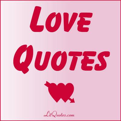 Love Quotes At Litquotes