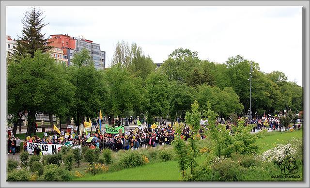 11 Manifestación contra el fracking en Burgos
