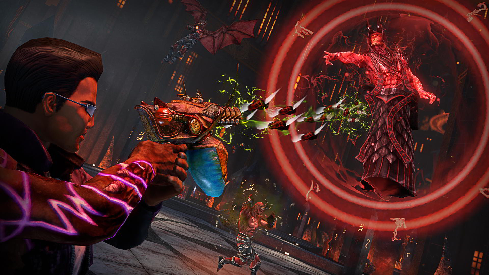 Saints Row Gat Out Of Hell Puts The Devil In The Details