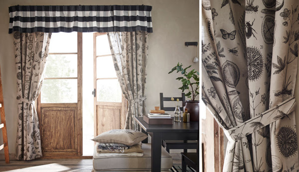 Ikea Curtains Inspiration With Soft Touch Homemydesign