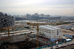 Olympic Park post-sandstorm