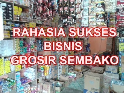 Contoh Spanduk Grosir Sembako - gambar spanduk