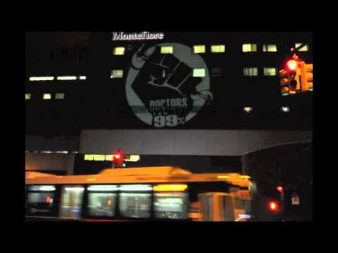 NYC : News & Analysis: Doctors For The 99 Percent Illuminate