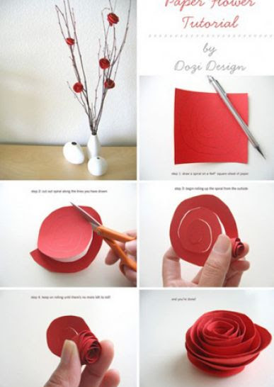 paper flowers to make. How to make paper flowers