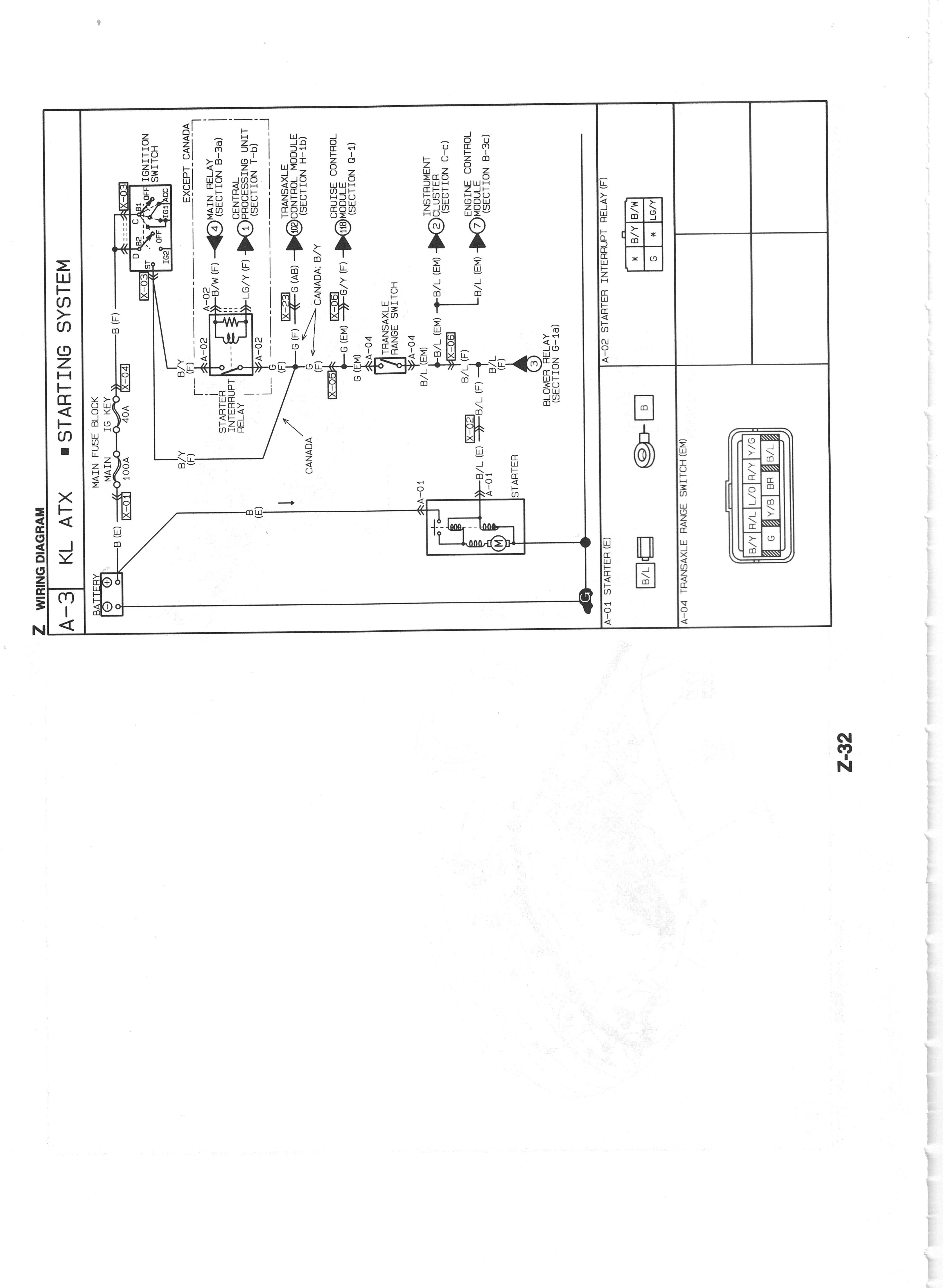 Pmx626 Info Us Mazda 626 Mx 6 Work Shop Manuals Scans 1995 Wiring Diagram