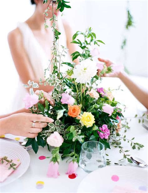 Garden Party Inspired Bridal Shower Ideas