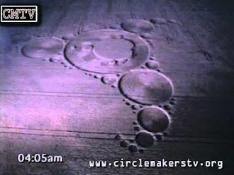 Crop Circle made by humans / Crop Circle Hecho por Humanos