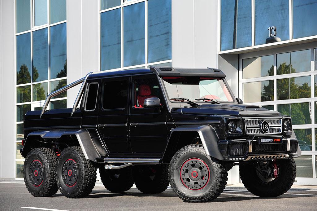 Brabus B63S 700 MercedesBenz G63 AMG 6\u00d76 is Warlord Chic  Sub5zero