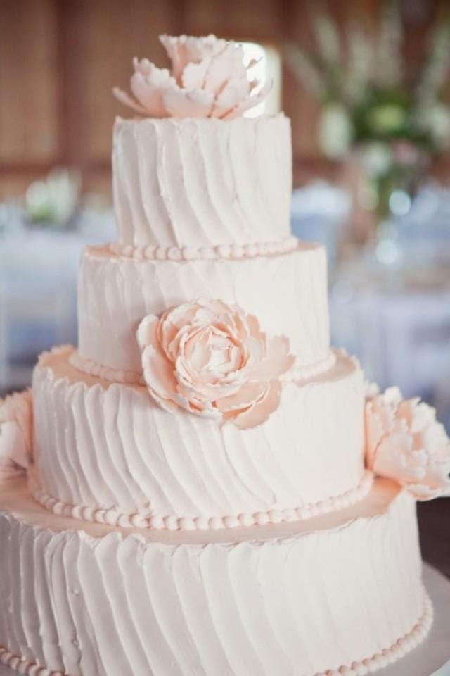 Wedding Lights - Light Pink Wedding Cake #2050809 - Weddbook