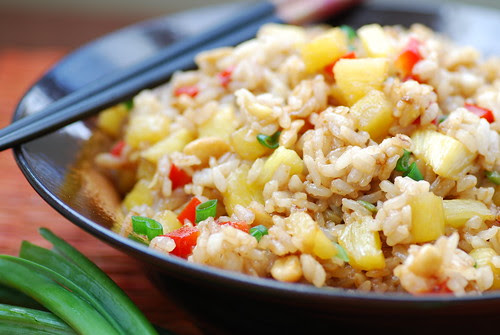 thai pineapple fried rice 3