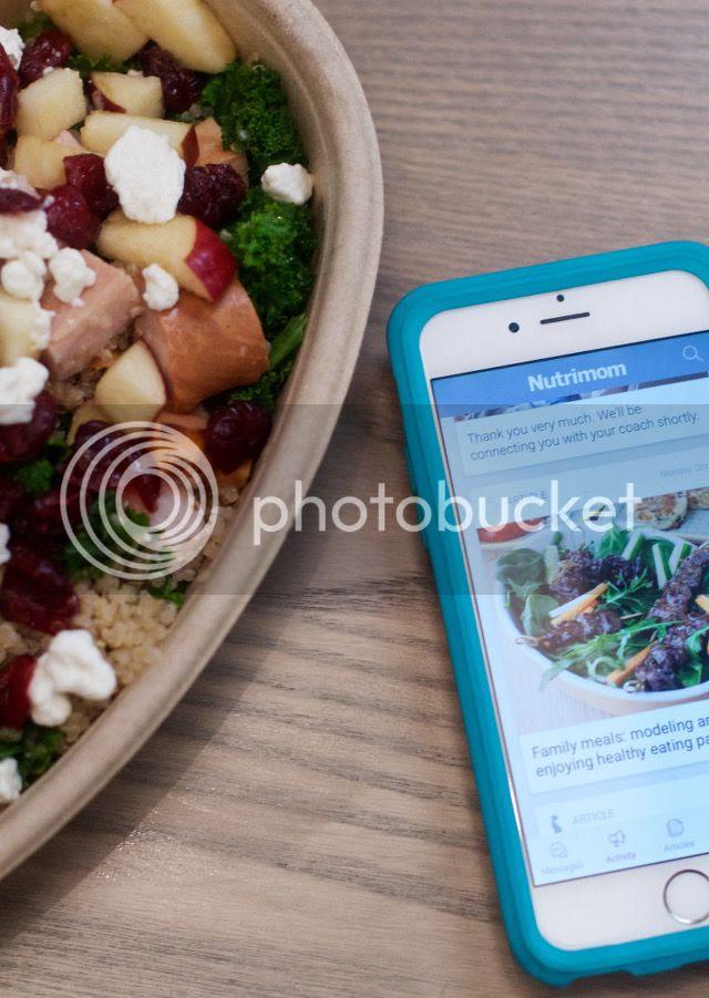 Quinoa Bowl and Nutrimom App