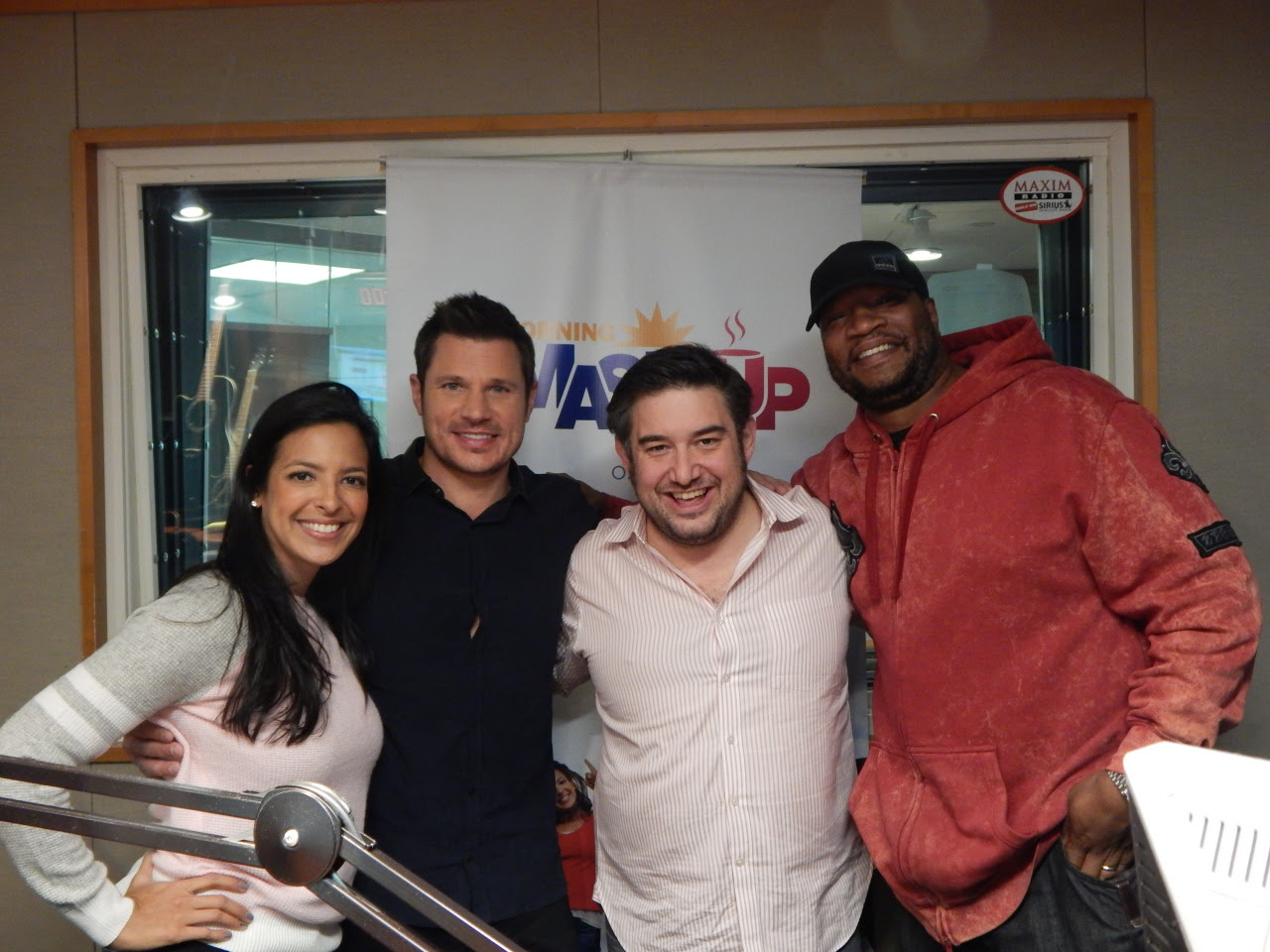 Nick Lachey is such a good guy, really fun to talk to, and our bud. Always a pleasure having him in studio!  Nick tells us about going to Disney for his & Vanessa's birthdays, whether Camden is ready to be a big brother, and his new album, Soundtrack Of My Life. Plus, we find out he & Stanley have something in common - car service! http://hits1.co/1A8d3D9  We get Nick's reaction to an old school Censor This with one of his songs with 98 Degrees, his holiday plans, how he feels about his Bengals this season, and whether or not he's into fantasy football. http://hits1.co/1vkO1Pj