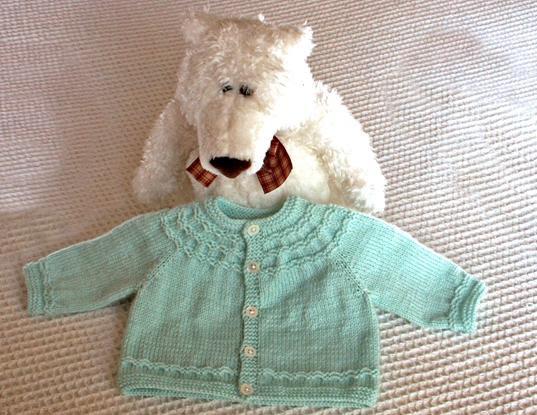 Seamless Yoke Baby Sweater
