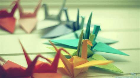 origami flowers wallpaper