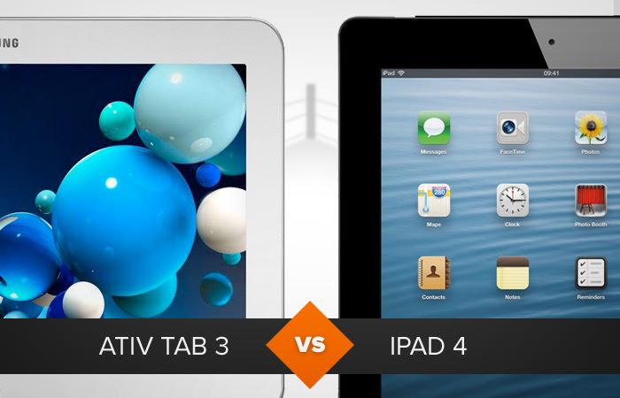 Ativ Tab 3 ou iPad 4: qual leva a melhor? O TechTudo analisa (Foto: Arte/TechTudo)