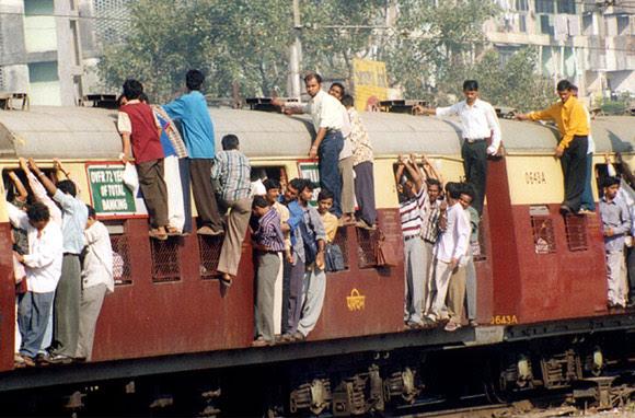 Image result for mumbai local train travel