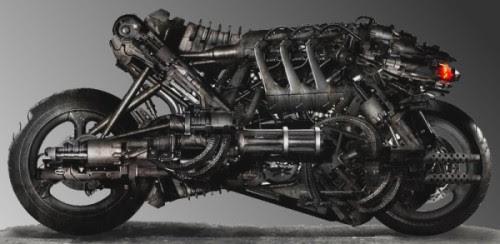 Terminator Salvation Motorcycle