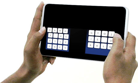 The Kalq keyboard designed at St Andrews University