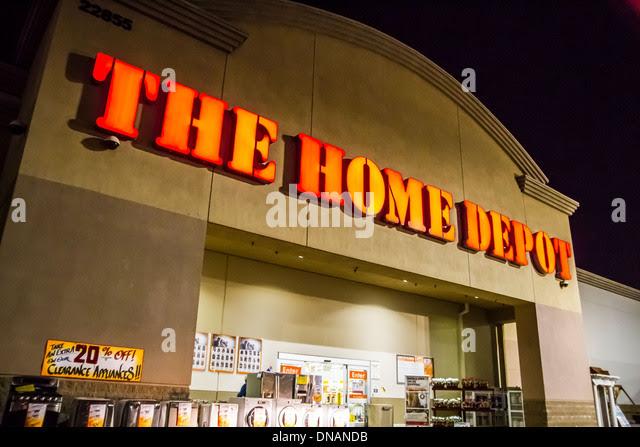 Home Depot Store Stock Photos