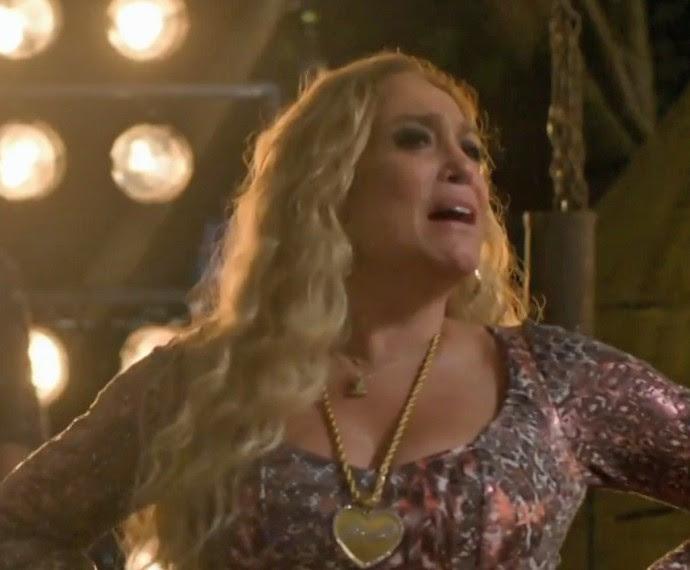 Susana Vieira e Adisabeba em 'A Regra do Jogo' '(Foto: TV Globo)