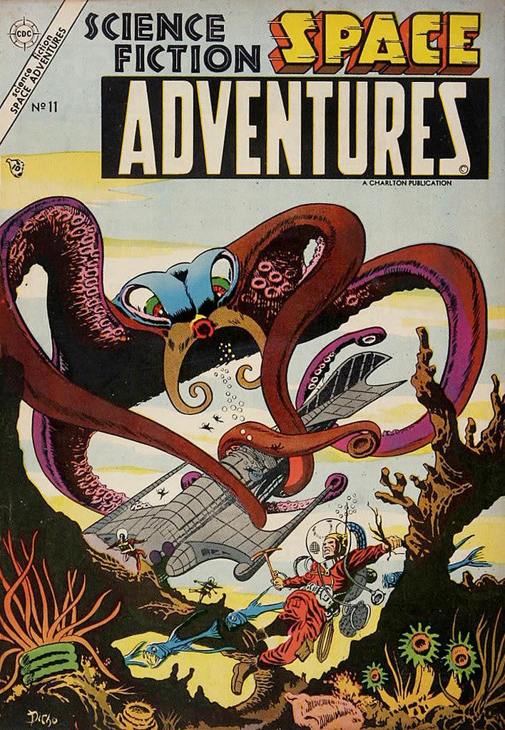 Space Adventures #11 (Steve Ditko Art) Charlton, 1954