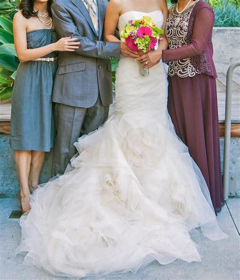 Vera Wang Gemma Wedding Dress   Tradesy Weddings