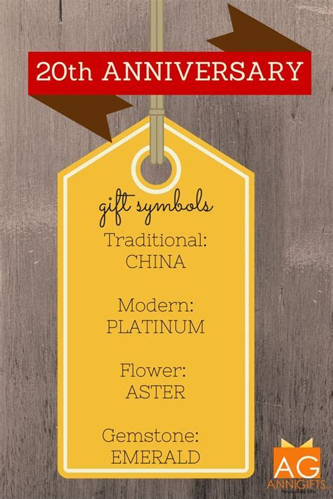 Top 25 ideas about 20th Anniversary Gift Ideas on