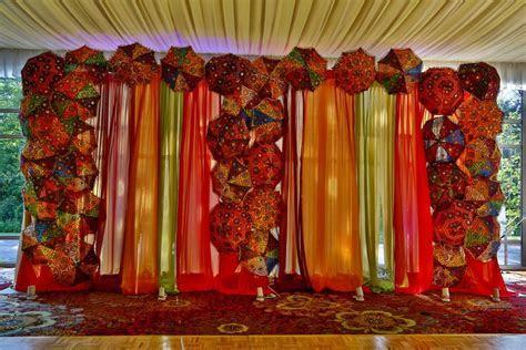 Sangeet, Garba, and Mehndi Decor   Wedding Flowers and