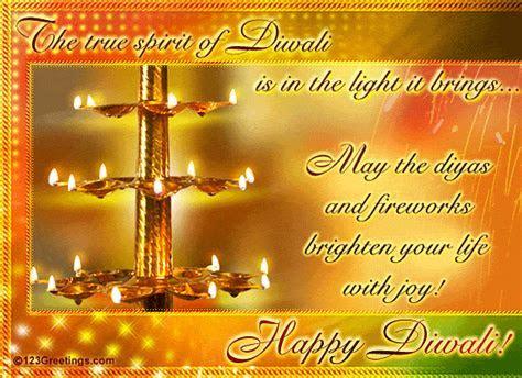 True Spirit Of Diwali  Free Diyas eCards, Greeting Cards