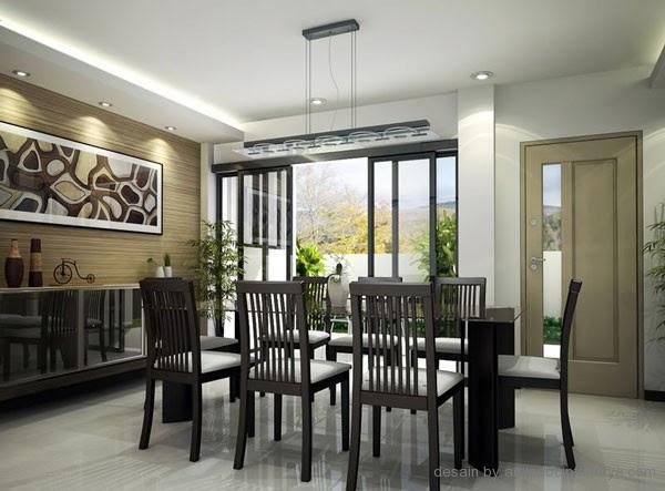 Merancang Desain Ruang Makan Keluarga
