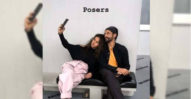 Farhan & Shibani are just the perfect posers on their London getaway