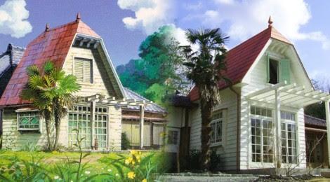 Resultado de imagem para totoro house