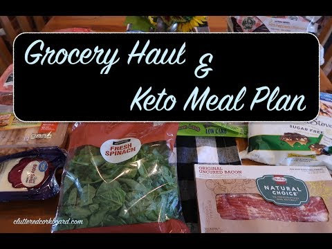 Grocery Haul & Keto/Low Carb Meal Plan for the Week