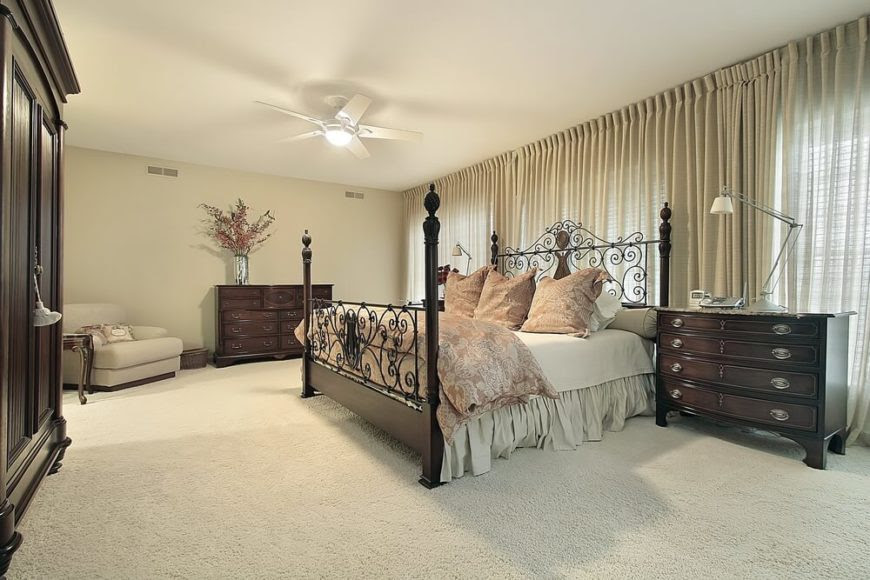 19 Jaw-Dropping Bedrooms With Dark Furniture (DESIGNS)